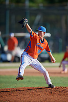 Joseph Ingrassia (16) during the WWBA World Championship at the Roger Dean Complex on October 13, 2019 in Jupiter, Florida.  Joseph Ingrassia attends  High School in El Cajon, CA and is committed to San Diego State.  (Mike Janes/Four Seam Images)