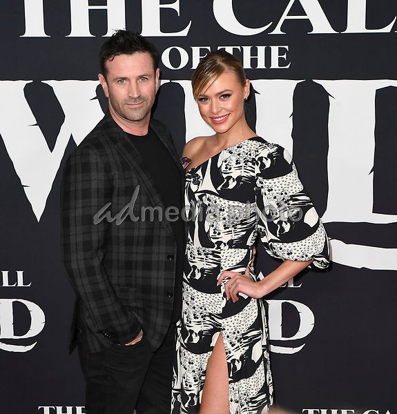 "13 February 2020 - Hollywood, California - Adam Fergus and Hayley Erin. ""The Call of the Wild"" Twentieth Century Studios World Premiere held at El Capitan Theater. Photo Credit: Dave Safley/AdMedia"