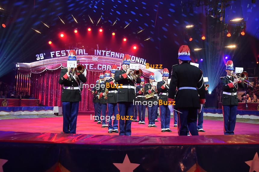 January 15, 2015 - Monaco, Monte Carlo - 39th International Circus Festival of Monte-Carlo opening night