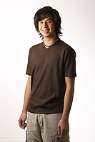 Montreal (Qc) CANADA ,August 2008 -<br /> Model Released photo -<br /> <br /> 17 year old male asian (Vietnamese) teen.<br /> <br /> photo : (c) images Distribution