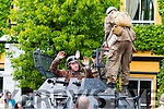 Listowel Military Tattoo : German soldiers surrender after Listowel Town was repossessed  by Allied forces during the reenacted battle during the Listowel Military Tattoo weekend on Sunday last.