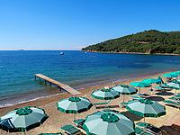 Hotel Villa Ottone, Strand, Portoferraio, Elba, Region Toskana, Provinz Livorno, Italien, Europa<br /> Hotel Villa Ottone, beach, Portoferraio, Elba, Region Tuscany, Province Livorno, Italy, Europe