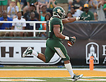 Baylor Bears defensive end Chris McAllister (31) in action during the game between the Wofford Terriers and the Baylor Bears at the Floyd Casey Stadium in Waco, Texas. Baylor leads Woffard 38 to 0 at halftime.