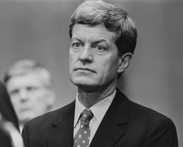Sen. Max Baucus, D-Mont., in September 1993. (Photo by Laura Patterson/CQ Roll Call via Getty Images)