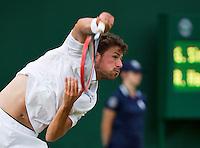 England, London, 25.06.2014. Tennis, Wimbledon, AELTC, Robin Haase (NED))<br /> Photo: Tennisimages/Henk Koster