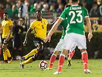 Pasadena, CA - Thursday June 09, 2016: Dever Orgill during a Copa America Centenario Group C match between Mexico (MEX) and Jamaica (JAM) at Rose Bowl Stadium.