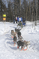 John Baker Anchorage Start Iditarod 2008.
