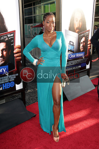 Milauna Jackson<br /> at the &quot;Clear History&quot; Los Angeles Premiere, Arclight, Hollywood, CA 07-31-13<br /> David Edwards/DailyCeleb.Com 818-249-4998