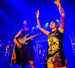 Killswitch Engage Heavy Metal band performs to a sold out crowd at The SPACE, with band members MIKE D'ANTONIO, ADAM DUTKIEWICZ, JOEL STROETZEL, JESSE LEACH, JUSTIN FOLEY