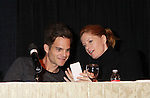 "Young & Restless Greg Rikaart and Michelle Stafford look at her daughter at Meet & Greet wine tasting event a part of the Soap Opera Festivals Weekend - ""All About The Drama"" on March 24, 2012 at Bally's Atlantic City, Atlantic City, New Jersey.  (Photo by Sue Coflin/Max Photos)"