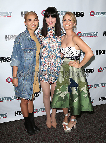 "10 July 2017 - West Hollywood, California - Hayley Kiyoko, Lena Hall, Mena Suvari. ""Becks"" 2017 Outfest Los Angeles LGBT Film Festival Screening. Photo Credit: F. Sadou/AdMedia"