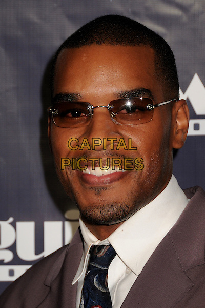 KENYON GLOVER.17th Annual Movieguide Faith and Values Awards Gala at the Beverly Hilton Hotel, Beverly Hills, California, USA..February 11th, 2009.headshot portrait sunglasses shades facial hair .CAP/ADM/BP.©Byron Purvis/AdMedia/Capital Pictures.