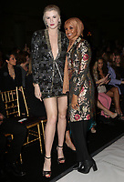 www.acepixs.com<br /> <br /> February 9 2018, New York City<br /> <br /> Ireland Baldwin (L) and Halima Aden attending the Sherri Hill Runway Show on February 9, 2018 in New York City.<br /> <br /> By Line: Nancy Rivera/ACE Pictures<br /> <br /> <br /> ACE Pictures Inc<br /> Tel: 6467670430<br /> Email: info@acepixs.com<br /> www.acepixs.com