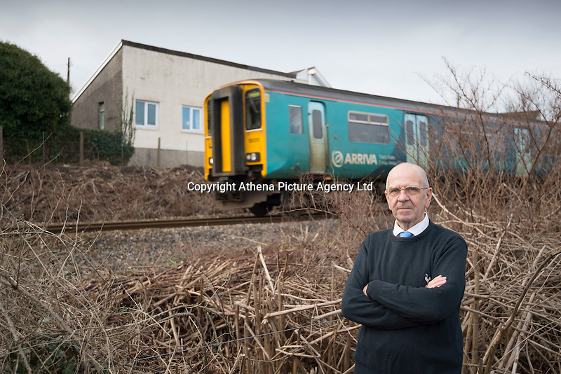 """COPY BY TOM BEDFORD<br /> Pictured: Robin Waistell amongst the Japanese knotweed with his property in the background<br /> Re: A homeowner whose bungalow is towered over by Japanese knotweed on a railway line has won a four-year legal fight for compensation by Network Rail.<br /> Robin Waistell claimed he was unable to sell because the rail body had ignored requests to tackle the invasive weed on the bank behind his home in Maesteg.<br /> The case was seen as a likely test for homeowners whose property is blighted by knotweed on railway embankments.<br /> Network Rail said it would be """"reviewing the judgement in detail"""".<br /> It is understood the rail infrastructure body was refused immediate leave to appeal against the ruling.<br /> Network Rail faces potential legal costs running into six figures after losing the case in Cardiff bought by Mr Waistell and a neighbour.<br /> Widower Mr Waistell, 70, had moved to the bungalow from Spain after his wife died.<br /> He had hoped to return to the sun, but found his property sale stymied by the knotweed growing on adjacent Network Rail land and was asking for £60,000 compensation for loss of value."""