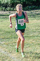 Mallory Koller is the third Ste. Genevieve finisher in the 4A race at the Hancock Cross Country Invitational. Koller finished 10th in 19:59. as the Lady Hunters won in easy fashion.