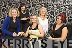 Preparing to be pampered last Monday in The Devon Inn Templegalntine was l-r Dominika Malkowitz and Maria Goad (Tangles Hair & Beauty), Meave Quigley, Esther McElligott(Esther's Boutique) and Shauna Riordan(Fashion Stylist) pictured ahead of a special pampering evening that takes place on Sunday 6th April between 3 and 6 in The Devon Inn as part of an Abbeyfeale fundraiser for this years festival 'Gather by the Feale""