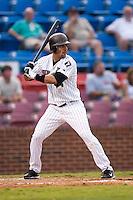 Winston-Salem shortstop Robert Valido (14) at bat versus Potomac at Ernie Shore Field in Winston-Salem, NC, Thursday, August 2, 2007.