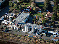aerial photograph Lagunitas Brewing Company, Petaluma, California