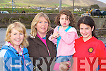 Attending the official opening of Caherciveen Rowing club on Sunday was l-r: Carmel Moran, Frances Moran, Telan and Raizan Abdulloh  ..   Copyright Kerry's Eye 2008