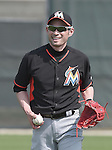 Ichiro Suzuki (Marlins),<br /> FEBRUARY 24, 2014 - MLB :<br /> Miami Marlins spring training camp in Jupiter, Florida, United States. (Photo by AFLO)
