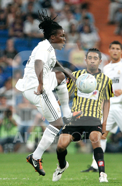 Real Madrid's Royston Drenthe during friendly match. July 26, 2009. (ALTERPHOTOS/Alvaro Hernandez).