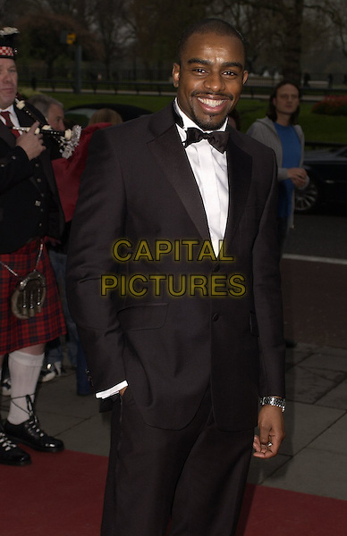 CHUCKY VENICE.At the Professional Footballers' Association Awards (PFA), Grosvenor House, Park Lane, LOndon, England, .April 23rd 2006..Half length suit bow tie.Ref: CAN.www.capitalpictures.com.sales@capitalpictures.com.©Can Nguyen/Capital Pictures