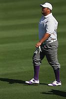 Joel Sjoholm (SWE) in action on the 8th hole during Sunday's Final Round of the 2012 Omega Dubai Desert Classic at Emirates Golf Club Majlis Course, Dubai, United Arab Emirates, 12th February 2012(Photo Eoin Clarke/www.golffile.ie)