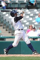 Trenton Thunder infielder Ali Castillo (4) during game against the Richmond Flying Squirrels at ARM & HAMMER Park on June 9 2013 in Trenton, NJ.  Trenton defeated Richmond 3-2.  Tomasso DeRosa/Four Seam Images