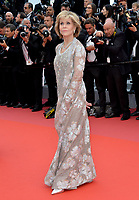 """Jane Fonda at the gala screening for """"BLACKKKLANSMAN"""" at the 71st Festival de Cannes, Cannes, France 14 May 2018<br /> Picture: Paul Smith/Featureflash/SilverHub 0208 004 5359 sales@silverhubmedia.com"""