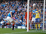 Jon Daly heads in the second goal