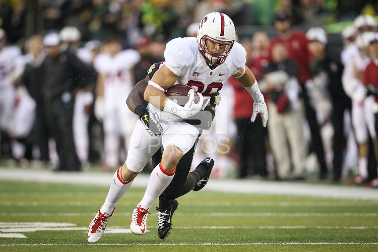 STANFORD, CA-NOVEMBER 2, 2014- The Stanford Cardinal is defeated by the Oregon Ducks 16-45 at Autzen Stadium in Eugene, OR.