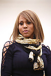 Deborah Cox performs during the North American Premiere presentation of 'The Bodyguard' at The New 42nd Street Studios on November 10, 2016 in New York City.