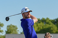 Sam Ryder (USA) watches his tee shot on 10 during round 1 of the AT&amp;T Byron Nelson, Trinity Forest Golf Club, at Dallas, Texas, USA. 5/17/2018.<br /> Picture: Golffile | Ken Murray<br /> <br /> <br /> All photo usage must carry mandatory copyright credit (&copy; Golffile | Ken Murray)