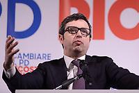 Roma, 12 Marzo 2017<br /> Andrea Orlando.<br /> Presentazione al teatro Eliseo della candidatura a segretario del Partito Democratico di Andrea Orlando Ministro della Giustizia.
