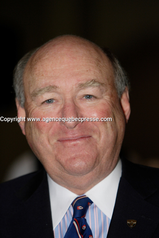 Montreal (Qc) CANADA - February 1st 2011 -David W Angus, Senator