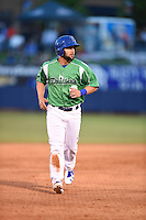***Temporary Unedited Reference File***Tulsa Drillers designated hitter Tyler Ogle (24) during a game against the Arkansas Travelers on April 28, 2016 at ONEOK Field in Tulsa, Oklahoma.  Tulsa defeated Arkansas 5-4.  (Mike Janes/Four Seam Images)