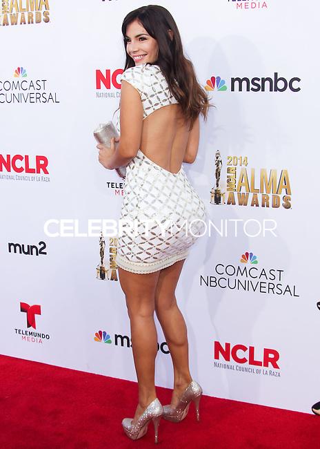 PASADENA, CA, USA - OCTOBER 10: Mariann Gavelo arrives at the 2014 NCLR ALMA Awards held at the Pasadena Civic Auditorium on October 10, 2014 in Pasadena, California, United States. (Photo by Celebrity Monitor)