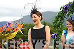 Ciara Kelly from Beaufort, Co. Kerry, won 19th Dawn Dairies Queen of Fashion title at Ladies Day at the Killarney Racing Festival on Thursday 19th of July