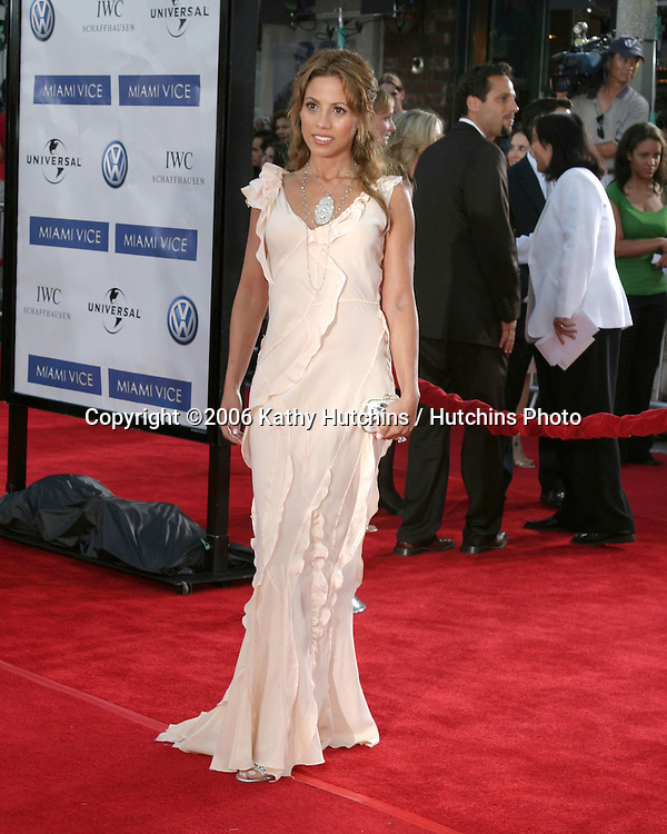 "Elizabeth Rodriguez.""Miami Vice"" Premiere.Mann's Village Theater.Westwood, CA.July 20, 2006.©2006 Kathy Hutchins / Hutchins Photo...."