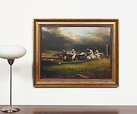 Gericault: Horse Race, Epson, Digital Print, ,