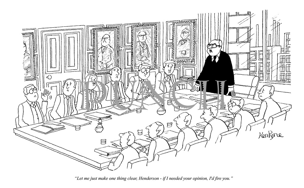 Cartoons from Punch magazine by Ken Pyne | PUNCH Magazine Cartoon ...