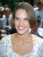 Hilary Swank, 1994, Photo By Michael Ferguson/PHOTOlink
