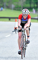 Photo: Paul Greenwood/Richard Lane Photography. Strathclyde Park Elite Triathlon. 17/05/2009. .Wales's Non Stanford