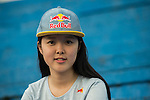 Ambassador poses for a portrait ahead at the Wings for Life World Run on May 3, 2015 in Yilan, Taiwan. Photo by Victor Fraile / Power Sport Images