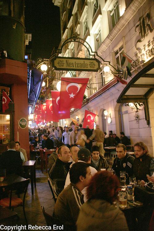 Nevizade Street, Beyoglu, Istanbul, Turkey