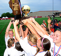 Oregon tops Green Bay Southwest 3-0 to win the WIAA Division 2 girls soccer state championship, on Saturday, June 20, 2015 at Uihlein Soccer Park in Milwaukee, Wisconsin