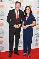 Piers Morgan and Susanna Reid<br /> arrives for the Good Morning Britain Health Star Awards 2016 at the Park Lane Hilton, London<br /> <br /> <br /> &copy;Ash Knotek  D3107 14/04/2016