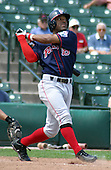 July 14, 2003:  Anton French of the Pawtucket Red Sox, Class-AAA affiliate of the Boston Red Sox, during a International League game at Frontier Field in Rochester, NY.  Photo by:  Mike Janes/Four Seam Images