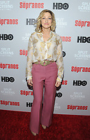 NEW YORK, NEW YORK - JANUARY 09: Edie Falco attends the 'The Sopranos' 20th Anniversary Panel Discussion at SVA Theater on January 09, 2019 in New York City. Credit: John Palmer/MediaPunch