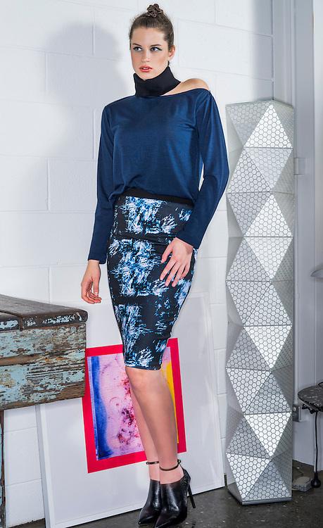 Fashion with Mirella, Trans Seasonal Dressing , Model Kate McBride Finesse. Photo: Nick Clayton